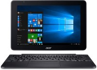 Acer One 10 Atom Quad Core - (2 GB 32 GB SSD Windows 10 Home) NT.LCQSI.001 S1003 2 in 1 Laptop(10.1 inch Black 1.27 kg)
