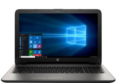 HP APU Quad Core A8 6th Gen - (4 GB/1 TB HDD/Windows 10 Home) Z1D89PA 15-bg002AU Notebook(15.6 inch, Turbo SIlver, 2.19 kg)