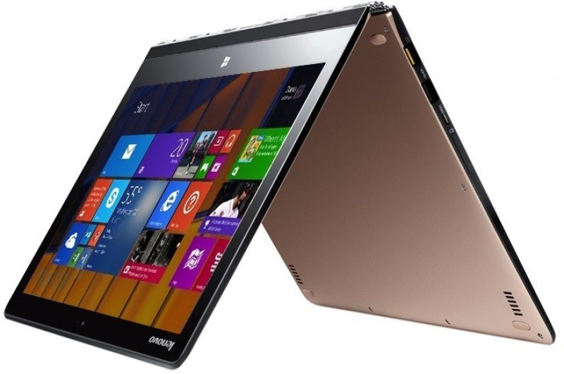Lenovo Yoga 3 Pro Core M 5th Gen - (8 GB/512 GB SSD/Windows 10 Home) 80HE0138IN Yoga 3 Pro 2 in 1 Laptop(13.3 inch, Golden, 1.20 kg)