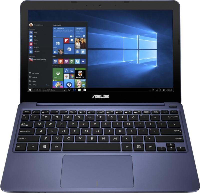 Asus EeeBook Intel Atom Quad Core - (2 GB/32 GB EMMC Storage/Windows 10) 90NL0072-M00610 E200HA-FD0004TS Notebook EeeBook