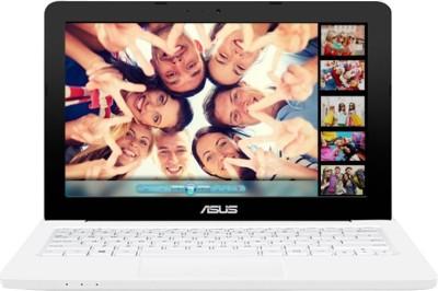 Asus Celeron Dual Core - (2 GB/500 GB HDD/DOS) 90NL0056-M05810 E202SA-FD011D Notebook(11.6 inch, White, 1.25 kg)