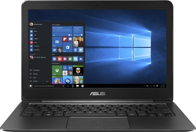 Asus Zenbook UX305FA-FC008T Intel Dual Core - (4 GB/256 GB SSD/Windows 10) Notebook 90NB06X1-M11270 (13.3 inch, Black, 1.2 kg)