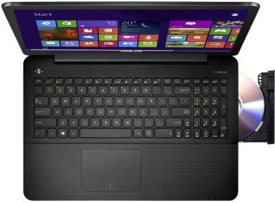 Asus X554LA-XX371H (Notebook) (Core i3 4th Gen/ 4GB/ 500GB/ Win8.1) (90NB0658-M07360)(15.6 inch, Black, 2.2 kg)
