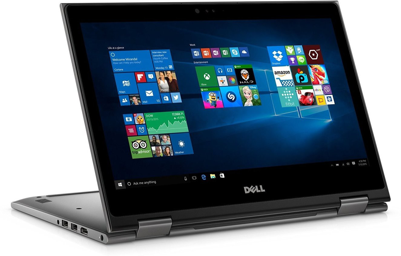 View Dell 5000 Core i5 6th Gen - (8 GB/1 TB HDD/Windows 10 Home) 5568 2 in 1 Laptop(15.6 inch, Grey) Laptop