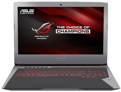 Asus ROG Core i7 6th Gen - (16 GB/1 TB HDD/512 GB SSD/Windows 10 Home/8 GB Graphics) 90NB09V1-M06060 G752VY-GC489T Notebook(17.3 inch, Grey, 4.3 kg)