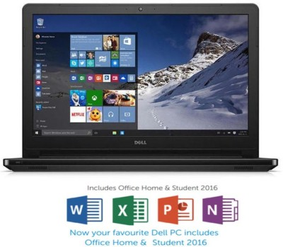 Dell Inspiron 5000 Core i5 6th Gen - (8 GB/1 TB HDD/Windows 10 Home/2 GB Graphics) Z566306SIN9BG 5559 Notebook(15.6 inch, Black Gloss, 2.4 kg)