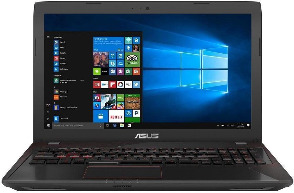 Asus FX Series Core i7 7th Gen - (8 GB/1 TB HDD/Linux/2 GB Graphics) FX553VD Gaming Laptop(15.6 inch, Black, 2.5 kg) image