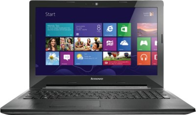 Lenovo G50-30 Notebook (4th Gen PQC/ 4GB/ 1TB/ Win8.1) (80G0015GIN) (Black)