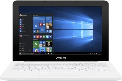 Asus Celeron Dual Core 5th Gen - (2 GB/500 GB HDD/Windows 10 Home) 90NL0051-M02820 E202SA-FD0012T Netbook(11.6 inch, White, 1.25 kg)