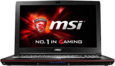 MSI Leopard Pro Core i7 6th Gen - (16 GB/1 TB HDD/128 GB SSD/Windows 10/2 GB Graphics) 6QF GP62 Notebook(15.6 inch, 2.3 kg)