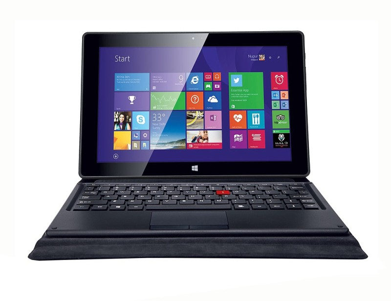 Iball Atom - (2 GB/32 GB HDD/32 GB SSD/Windows 8 Pro) WQ149 2 in 1 Laptop(10.1 inch, SPecial Balck)