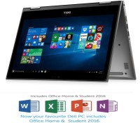 Dell 5000 Core i7 6th Gen - (8 GB 1 TB HDD Windows 10 Home) Z564302SIN9 5368 2 in 1 Laptop(13.3 inch Grey)