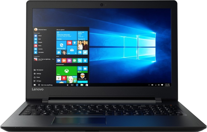 Lenovo Ideapad 100 APU Quad Core A8 6th Gen - (8 GB/1 TB HDD/DOS/2 GB Graphics) 80TJ00BNIH 110-15ACL Notebook(15.6 inch, Black Texture, 2.2 kg)