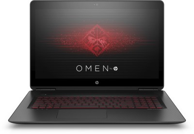 HP OMEN Core i7 7th Gen - (16 GB/1 TB HDD/256 GB SSD/Windows 10 Home/8 GB Graphics) 17-w250TX Notebook(17.3 inch, Black)