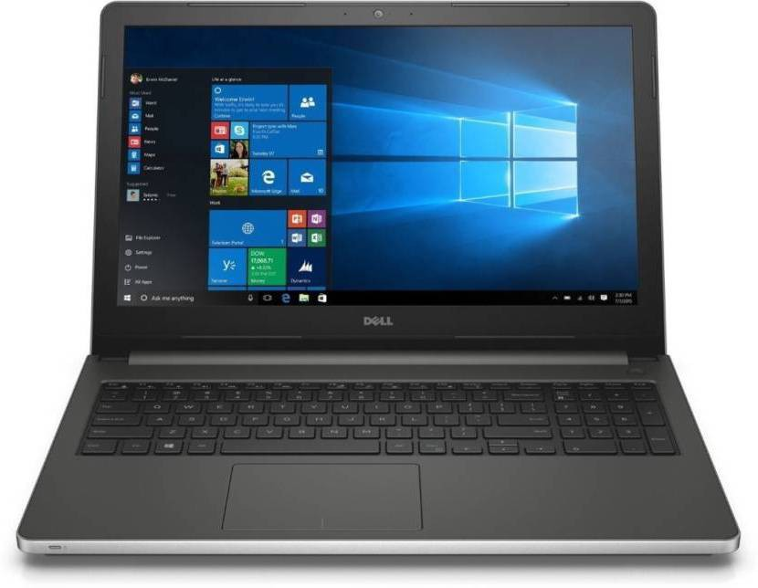 Dell Inspiron 5000 Core i7 6th Gen - (16 GB/2 TB HDD/Windows 10 Home/4 GB Graphics) 5559 Notebook(15.6 inch, SIlver, 2.4 kg)   Laptop  (Dell)