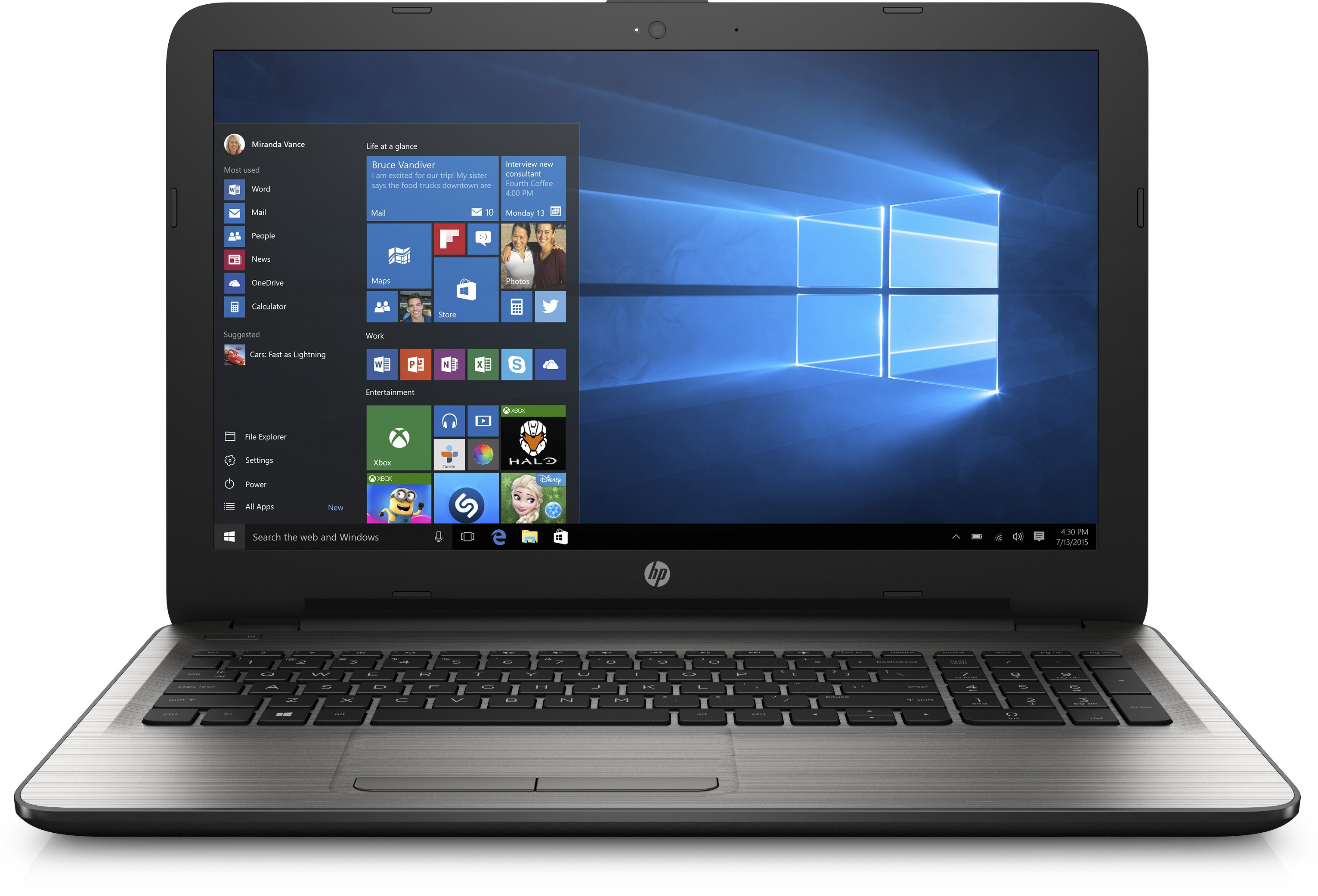 View HP 15 Core i5 6th Gen - (8 GB/1 TB HDD/Windows 10 Home/2 GB Graphics) 15-AY009TX Notebook(15.6 inch, SIlver) Laptop