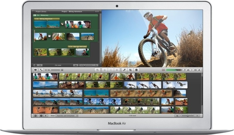 Apple MD711HN/A MacBook Air (4th Gen Ci5/ 4GB/ 128GB Flash/ Mac OS X Mountain Lion)(10.89 inch, Silver, 1.08 kg)