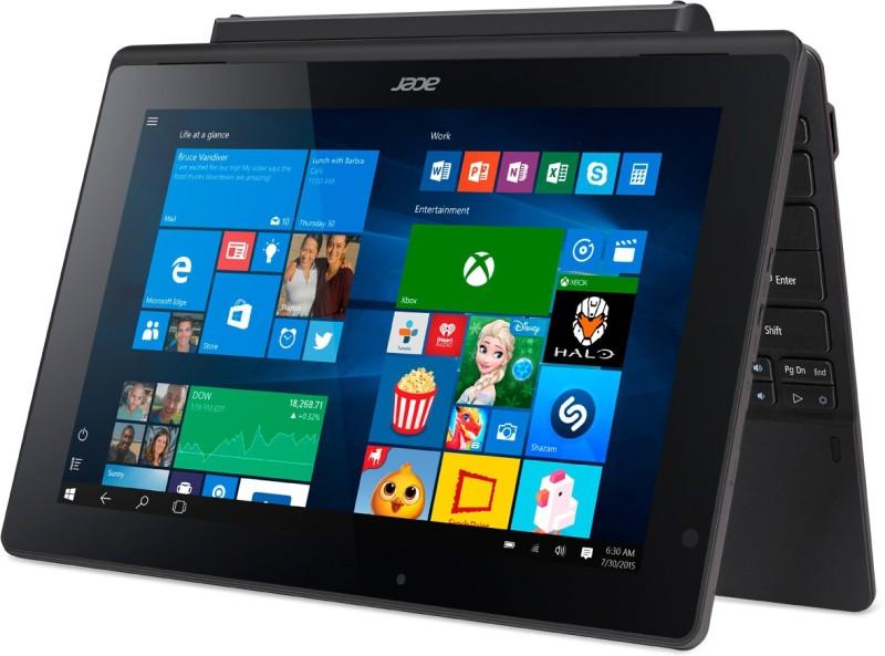 Acer Switch 2 in 1 Laptop Switch Intel Atom Quad Core 2 GB RAM Windows 10 Home