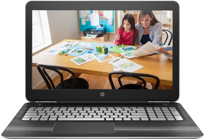 HP Core i7 7th Gen - (8 GB/1 TB HDD/Windows 10 Home/4 GB Graphics) Z4Q47PAACJ 15-AU628TX Notebook(15.6 inch, Natural SIlver, 2.03 kg)