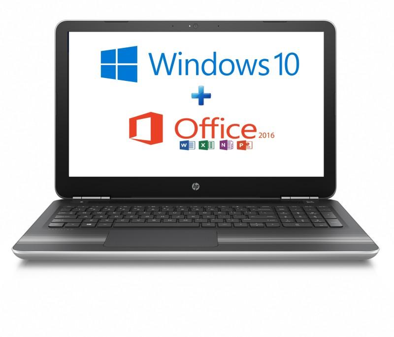 HP Core i7 7th Gen - (8 GB/1 TB HDD/Windows 10 Home/4 GB Graphics) Z4Q47PA#ACJ 15-AU628TX Notebook(15.6 inch, Natural SIlver, 2.03 kg)