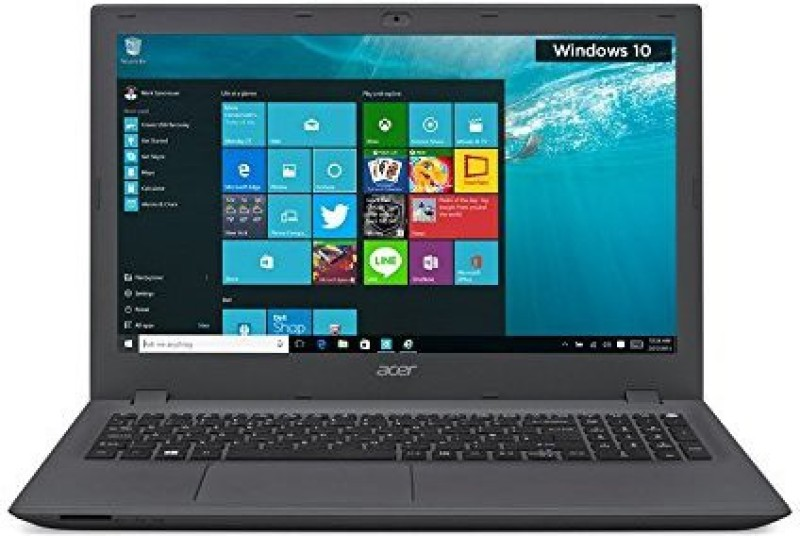 Acer Aspire E Notebook Aspire E Intel Core i3 4 GB RAM Windows 10 Home