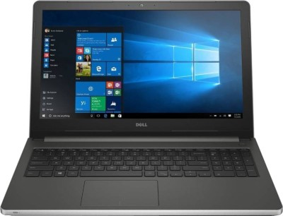 Dell Core i5 6th Gen - (4 GB/1 TB HDD/Windows 10 Home) Z566114HIN9 5559 Notebook(15.6 inch, SIlver, 2.06 kg)