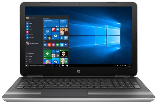 View HP Pavilion Core i7 6th Gen - (8 GB/1 TB HDD/Windows 10 Home/4 GB Graphics) 15-AU009TX Notebook(15.6 inch, Turbo SIlver, 2 kg) Laptop