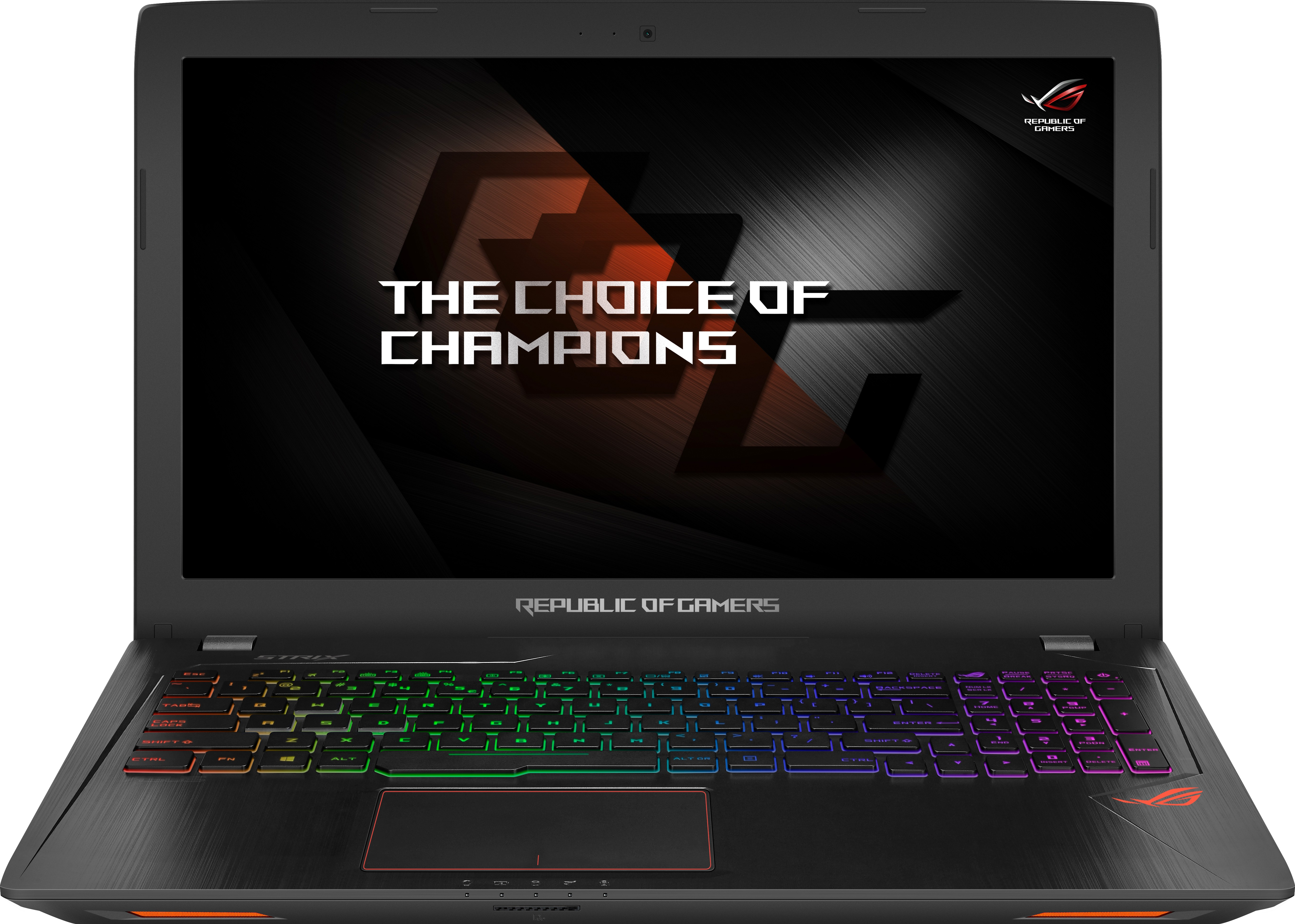 Asus ROG Core i7 7th Gen - (8 GB/1 TB HDD/Windows 10 Home/4 GB Graphics) GL553VE-FY047T Gaming Laptop(15.6 inch, Black Metal, 2.5 kg) image