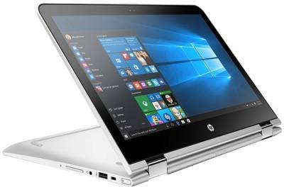 HP Pavilion 13–u005TU Intel Core i5 (6th Gen) - (4 GB/1 TB HDD/Windows 10) 2 in 1 Laptop W0J51PA� (13.3 inch, Natural SIlver, 1.66 kg)