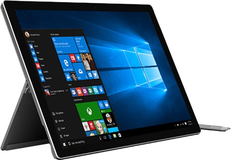 Microsoft Surface Pro 4 Core i5 6th Gen - (8 GB/256 GB SSD/Windows 10 Home) CR3-00022 1724 2 in 1 Laptop(31.242 cm, SIlver, 0.78 kg)