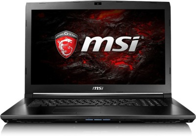 MSI GL Core i7 7th Gen - (8 GB/1 TB HDD/Windows 10 Home/4 GB Graphics) 9S7-16J952-640 GL62 7RD Notebook(15.6 inch, Black, 2.7 kg)