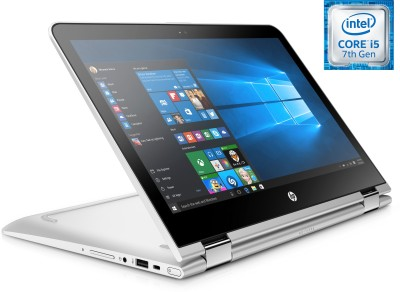 HP Pavilion x360 Core i5 7th Gen - (4 GB/1 TB HDD/Windows 10 Home) Y4F72PA 13-u105tu 2 in 1 Laptop(13.3 inch, SIlver, 1.58 kg)