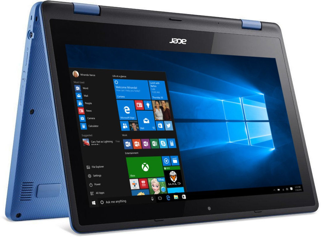 Acer Aspire R11 Pentium Quad Core - (4 GB/500 GB HDD/Windows 10 Home) R3-131T-P9J9/r3-131t-p71c 2 in 1 Laptop(11.6 inch, Light Blue, 1.58 kg) (Acer) Tamil Nadu Buy Online