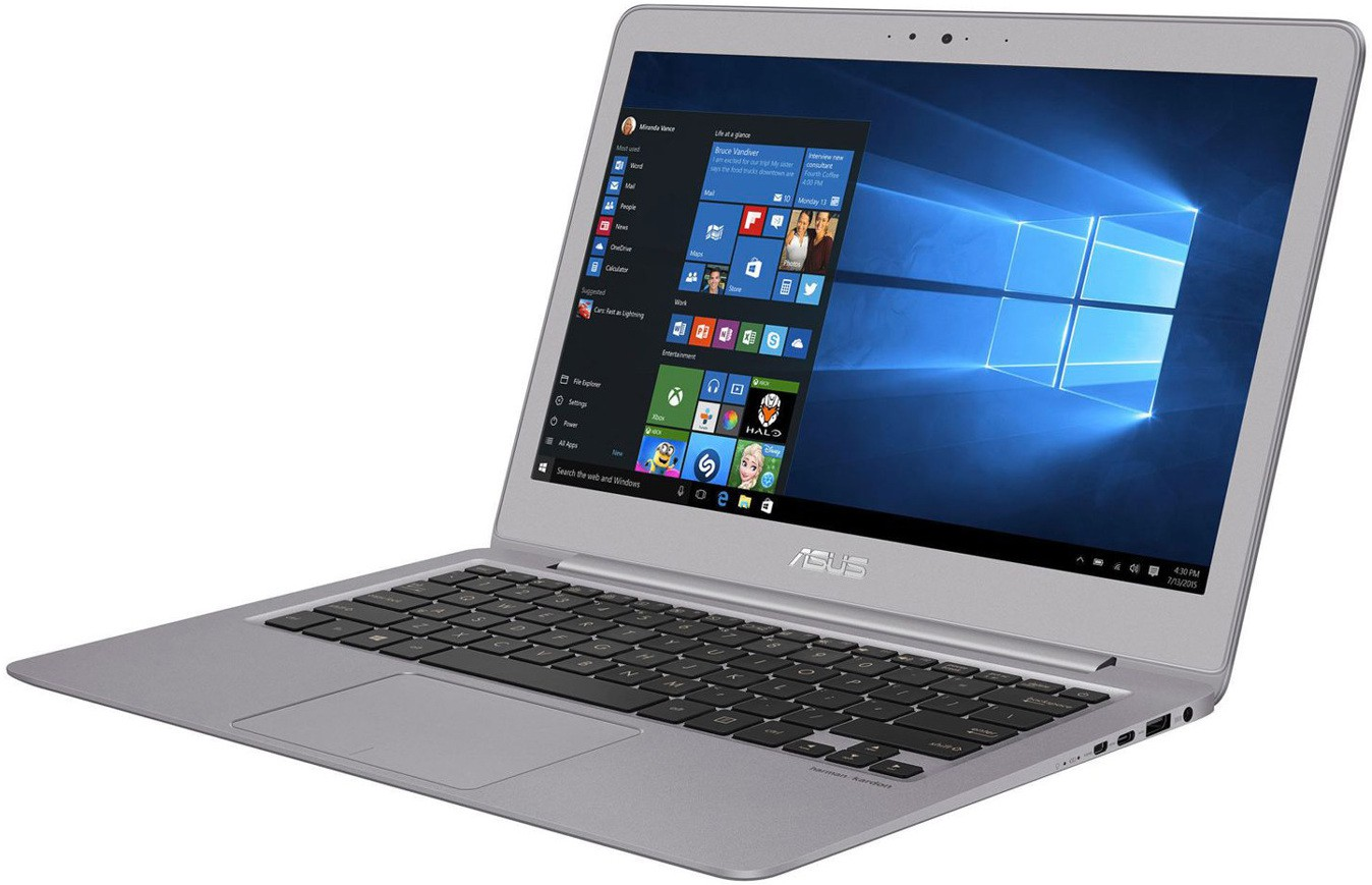 View Asus Zenbook Series Core i5 7th Gen - (8 GB/256 GB SSD/Windows 10 Home) UX330UA-FC082T Notebook(13.3 inch, Grey, 1.2 kg) Laptop