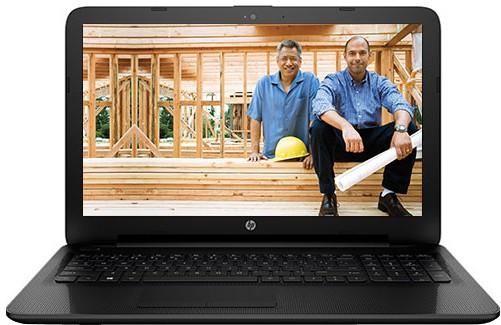 View HP Pentium Quad Core 4th Gen - (4 GB/500 GB HDD/Windows 10 Home) 15-AC647TU Notebook(15.6 inch, Jack Black, 2.19 kg) Laptop