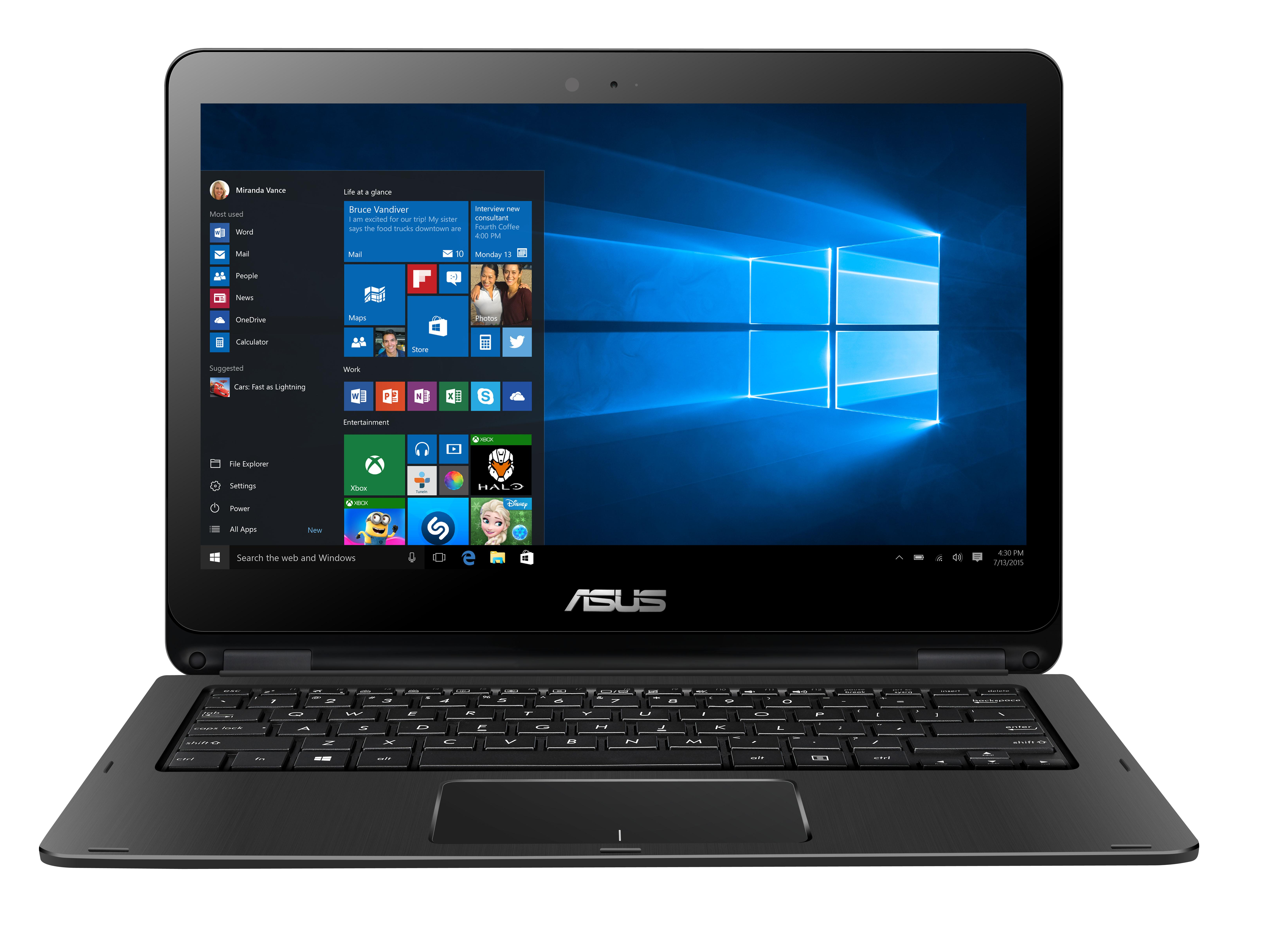 View Asus Flip Core i5 6th Gen - (8 GB/1 TB HDD/Windows 10 Home/2 GB Graphics) C4011T 2 in 1 Laptop(13.3 inch, Black With STraight Hair Line Texture, 1.6 kg) Laptop