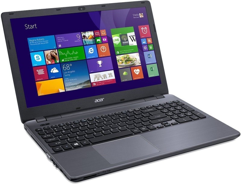 Acer Aspire E Core i3 4th Gen - (4 GB/1 TB HDD/Linux) E5-573/NX.MVHSI.027 Notebook(15.6 inch, Charcoal Gray)