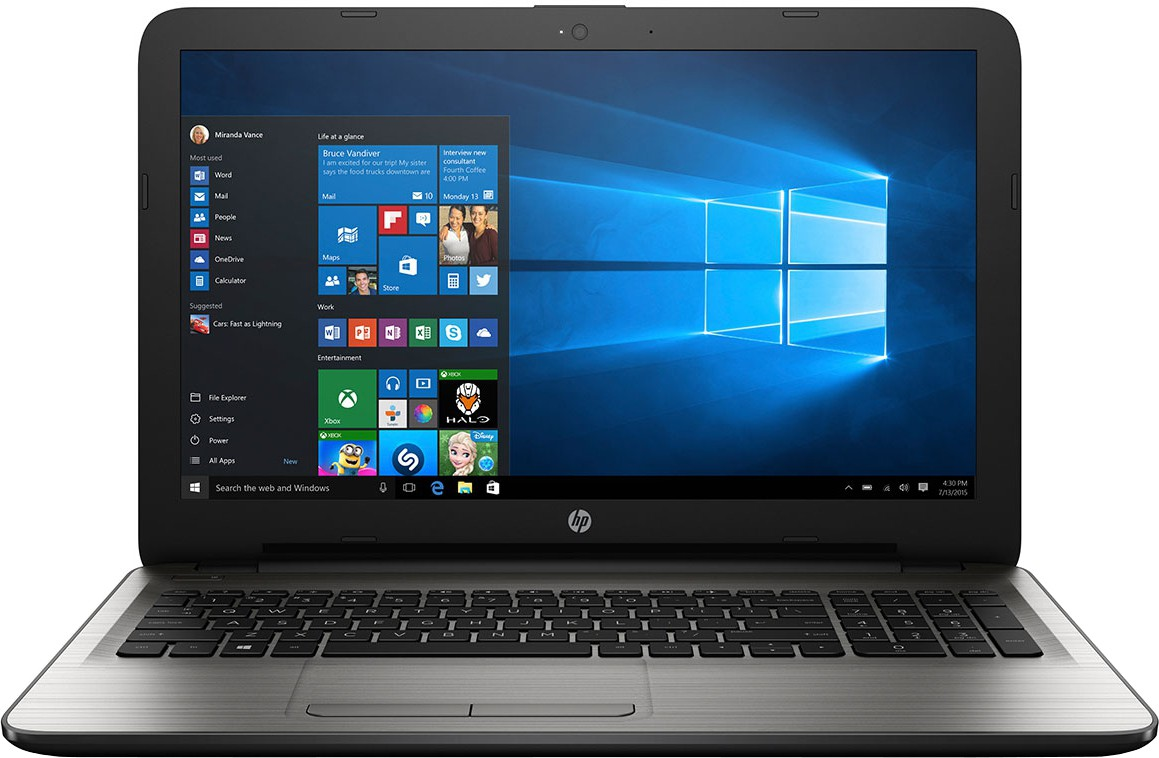 HP Core i3 6th Gen - (4 GB/1 TB HDD/Windows 10 Home) AY543TU Notebook(15.6 inch, SIlver, 2.19 kg)   Laptop  (HP)