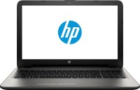 HP Core i3 4th Gen - (4 GB 1 TB HDD Windows 8.1 2 GB Graphics) N4F44PA 15-AC072TX Notebook(15.6 inch Turbo SIlver Color With Diamond & Cross Brush Pattern 2.14 kg)