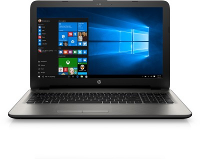 HP Core i5 5th Gen - (4 GB/1 TB HDD/Windows 10 Home/2 GB Graphics) N8M28PA 15-ac123tx Notebook(15.6 inch, Turbo SIlver, 2.19 kg)