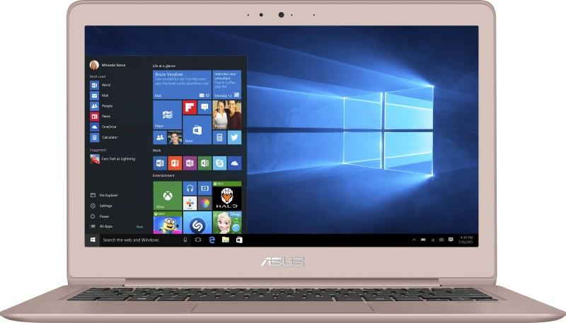 Asus  Notebook  Intel Core M 4 GB RAM Windows 10 Home