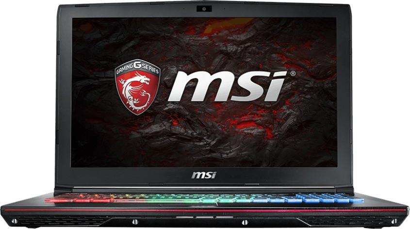 View MSI GE Core i7 7th Gen - (16 GB/1 TB HDD/256 GB SSD/Windows 10 Home/6 GB Graphics) GE62VR 7RF Notebook(15.6 inch, Black, 2.4 kg) Laptop