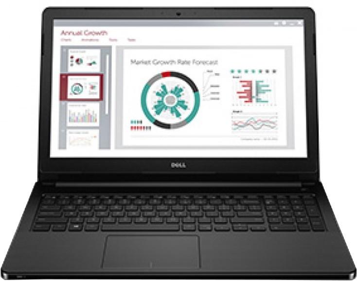Dell Vostro Core i3 5th Gen - (4 GB/1 TB HDD/Windows 10 Pro) 3558 Business Laptop(15.6 inch, Black) image