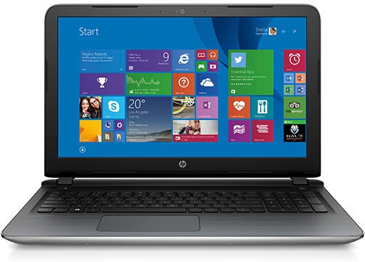 View HP Pavilion Core i5 5th Gen - (4 GB/1 TB HDD/Windows 10 Home/2 GB Graphics) 15-ab205tx Notebook(15.6 inch, Natural SIlver, 2.09 kg) Laptop