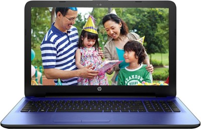 HP Core i3 5th Gen - (4 GB/1 TB HDD/Windows 10 Home) N8M17PA 15-ac121tu Notebook(15.6 inch, Nobel Blue)