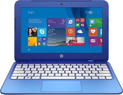 HP Stream Celeron Dual Core - (2 GB/32 GB HDD/32 GB EMMC Storage/Windows 8.1) K8T73PA 13-C019TU Notebook(13.3 inch, Horizon Blue, 1.55 kg)