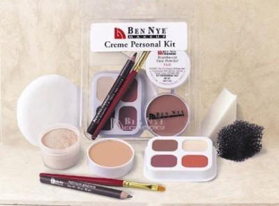 Ben Nye Theatrical Creme Personal Kit - OLIVE Concealer