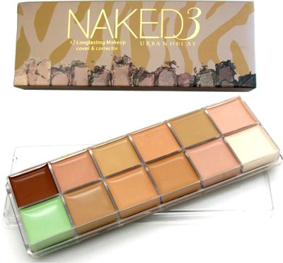 Urban Decay Naked 3 Concealer(12 Longlasting Makeup cover and Corrector)