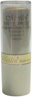 Meilin 3 in 1 Express Make Up Stick , Foundation, Compact Concealer