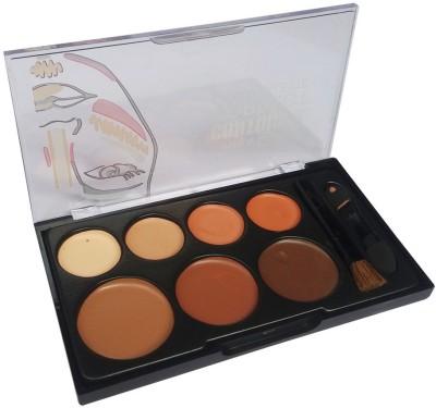 Kiss Beauty Contour-Correct-Cream-Pallette Concealer(Beige Cream - 10)